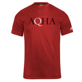 Russell Core Performance Red Tee-AQHA