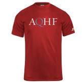 Russell Core Performance Red Tee-AQHF