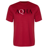Performance Red Tee-AQHA