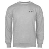 Grey Fleece Crew-AQHF
