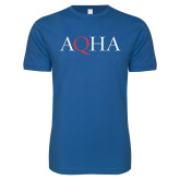 Next Level SoftStyle Royal T Shirt-AQHA