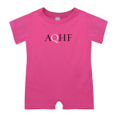 Bubble Gum Pink Infant Romper-AQHF