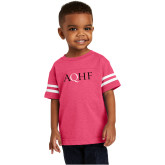 Toddler Vintage Hot Pink Jersey Tee-AQHF
