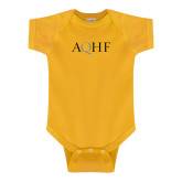 Gold Infant Onesie-AQHF