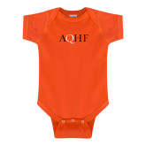 Orange Infant Onesie-AQHF