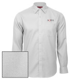 Red House White Diamond Dobby Long Sleeve Shirt-AQHA