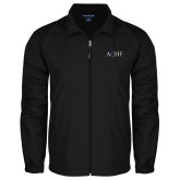 Full Zip Black Wind Jacket-AQHF