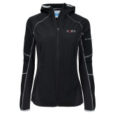 Columbia Ladies Sweet As Black Hooded Jacket-AQHA
