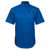 Royal Twill Button Down Short Sleeve-AQHF