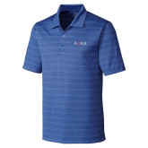C&B Interbay Royal Stripe Polo-AQHA