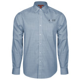 Red House Light Blue Plaid Long Sleeve Shirt-AQHF