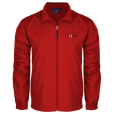 Full Zip Red Wind Jacket-AQHA
