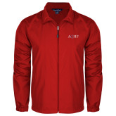Full Zip Red Wind Jacket-AQHF