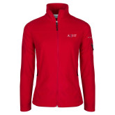 Columbia Ladies Full Zip Red Fleece Jacket-AQHF