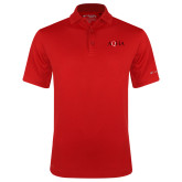 Columbia Red Omni Wick Drive Polo-AQHA