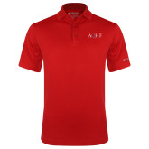 Columbia Red Omni Wick Drive Polo-AQHF