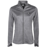 Ladies Callaway Stretch Performance Heather Grey Jacket-AQHA