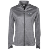 Ladies Callaway Stretch Performance Heather Grey Jacket-AQHF