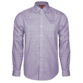Red House Purple Plaid Long Sleeve Shirt-AQHA