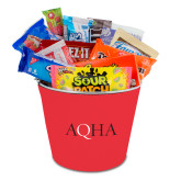 Metal Gift Bucket w/Neoprene Cover-AQHA