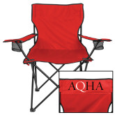 Deluxe Red Captains Chair-AQHA