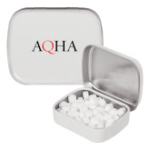 White Rectangular Peppermint Tin-AQHA