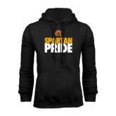 Black Fleece Hoodie-Spartan Pride