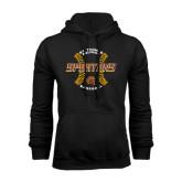 Black Fleece Hoodie-Spartans Baseball w/ Seams