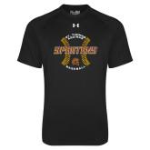 Under Armour Black Tech Tee-Spartans Baseball w/ Seams