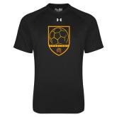 Under Armour Black Tech Tee-Spartans Soccer Shield