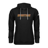 Adidas Climawarm Black Team Issue Hoodie-Spartans Word Mark