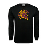 Black Long Sleeve TShirt-Official Logo