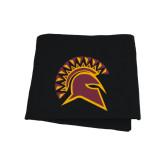 Black Sweatshirt Blanket-Official Logo
