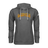 Adidas Climawarm Charcoal Team Issue Hoodie-St. Thomas Aquinas Spartans Arched