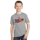 Youth Grey T-Shirt-Fear The Spartans