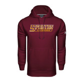 Under Armour Maroon Performance Sweats Team Hoodie-Lacrosse