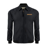 Black Players Jacket-Spartans Word Mark