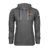 Adidas Climawarm Charcoal Team Issue Hoodie-Spartans Word Mark