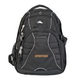 High Sierra Swerve Compu Backpack-Spartans Word Mark