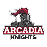 Large Decal-Arcadia Knights Stacked, 12 in Wide