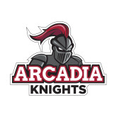 Small Decal-Arcadia Knights Stacked, 6 in Wide