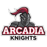 Extra Large Decal-Arcadia Knights Stacked, 18 in Wide