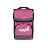 Passion Pink Flap Lunch Cooler-Official Logo