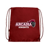 Cardinal Drawstring Backpack-Official Logo