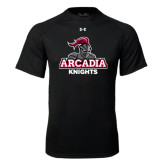 Under Armour Black Tech Tee-Arcadia Knights Stacked