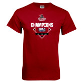 Cardinal T Shirt-2017 ECAC Softball Champions Diamond
