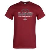 Cardinal T Shirt-2017 Womens Soccer Champions
