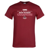 Cardinal T Shirt-2018 Baseball Champions