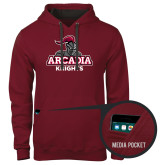 Contemporary Sofspun Cardinal Hoodie-Arcadia Knights Stacked