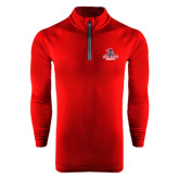 Under Armour Cardinal Tech 1/4 Zip Performance Shirt-Arcadia Knights Stacked
